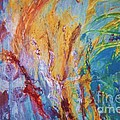 Colourful Abstract by Ann Fellows