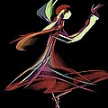 Colourful Dancer  by Pamela Blayney