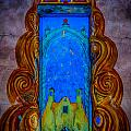Colourful Doorway Art On Adobe House by Gareth Burge Photography