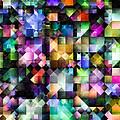Colourful Fractal Jewels by Hakon Soreide