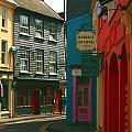 Colourful Kinsale Street by Jeremy Hayden