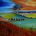 Colourful Landscape by Elani Van der Merwe