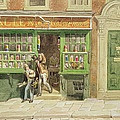 Colourmans Shop, St Martins Lane, 1829 Wc On Paper by George the Elder Scharf