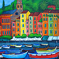 Colours Of Portofino by Lisa  Lorenz