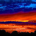Colours Of Sunset by Mark Blauhoefer