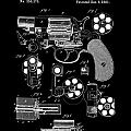 Colt Revolver Patent Art 2  -  1881 by Daniel Hagerman