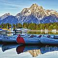 Colter Bay by Claudia Kuhn