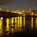 Columbia At Night - 1 by Charles Hite