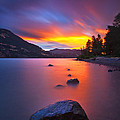 Columbia Morning Fire by Darren  White