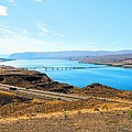 Columbia River From Overlook by Janette Boyd