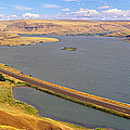 Columbia River In Oregon, Viewed by Panoramic Images