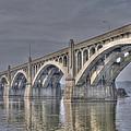 Columbia-wrightsville Bridge by Path Joy Snyder