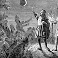 Columbus And The Lunar Eclipse, 1504 by British Library
