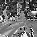 Columbus Circle by Underwood Archives