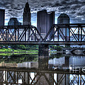 Columbus Ohio Downtown IIi by J M Lister