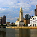 Columbus Skyline by Laurel Talabere