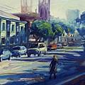 Columbus Street by Rick Nederlof