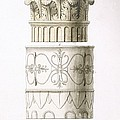 Column And Capital by English School