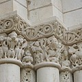 Column Relief Abbey Fontevraud  by Christiane Schulze Art And Photography