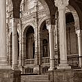 Columns And Arches by Michael Kirk