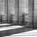 Columns And Shadows by Paul W Faust -  Impressions of Light