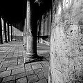 Columns At The Church Of Nativity by David Morefield