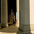 Columns Of A Memorial, Jefferson by Panoramic Images