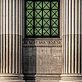 Columns On An Old Building by Thomas Winz