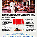 Coma, Left Genevieve Bujold On Poster by Everett