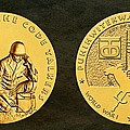 Comanche Nation Tribe Code Talkers Bronze Medal Art  by Movie Poster Prints