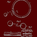 Combined Hoop And Tethered Ball Toy Patent 1967 by Mountain Dreams