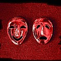 Comedy And Tragedy Masks 4 by Will Borden