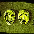 Comedy And Tragedy Masks 6 by Will Borden
