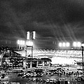 Comerica Park At Night by J S