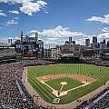 Comerica Park From Behind The Plate by John McGraw