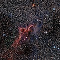 Cometary Globules In Vela And Puppis by Robert Gendler