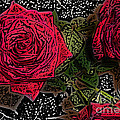 Comic Book Roses by Minding My  Visions by Adri and Ray
