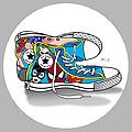 Comics Shoes 2 by Mark Ashkenazi