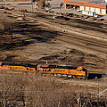 Coming From The Train Yard by Karen Kersey