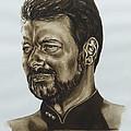 commander William Riker Star Trek TNG by Giulia Riva