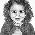Commissioned Child's Portrait by Kate Sumners