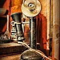 Communication - Candlestick Phone by Paul Ward
