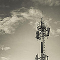 Communication Tower by Marco Oliveira