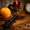 Comparing Apple And Orange by Olivier Le Queinec