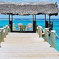 Tranquility At Compass Point, Nassau, Bahamas by Marcus Dagan