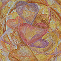Compassion 7 Hearts by Elaine Allen