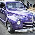 Complete 1948 Plymouth Classic Car In Color Of Purple 3387.02 by M K Miller