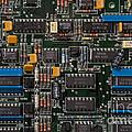 Computer Circuit Board by Jim Corwin