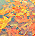 Computer Generated Image Of Autumn by Angela A Stanton