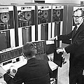 Computers Used At Gmc by Underwood Archives